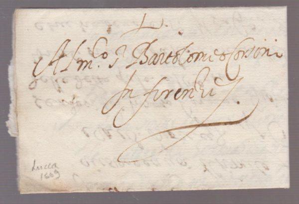 Italy Corsini Correspondence 1609