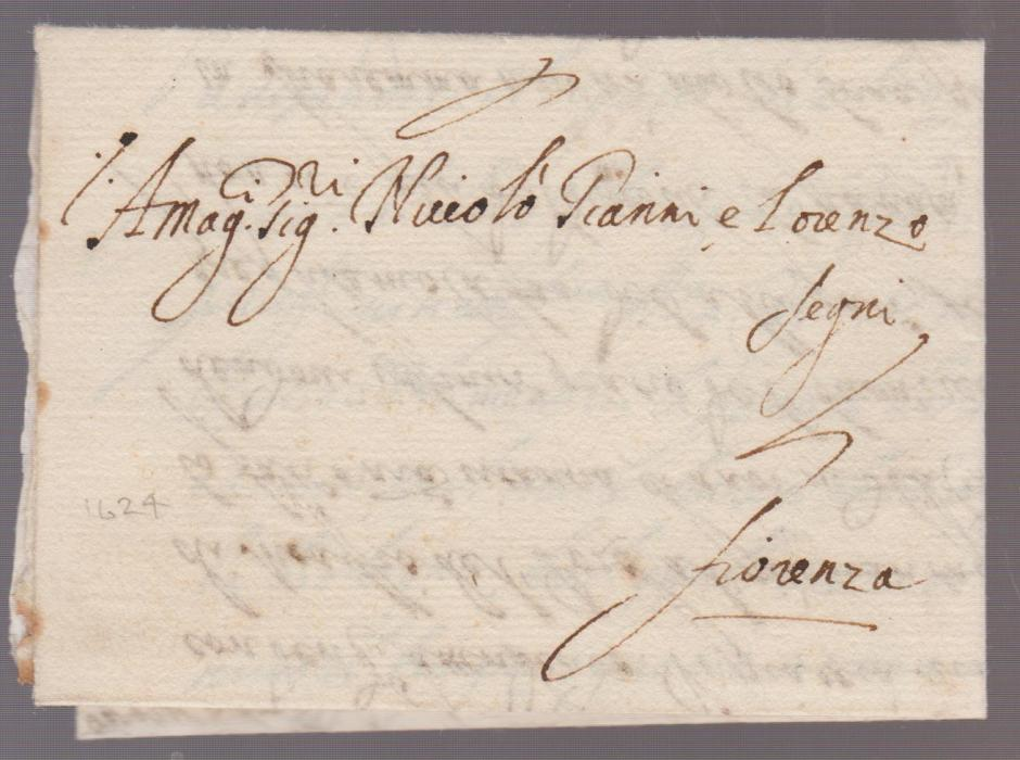Italy Corsini Correspondence 1624