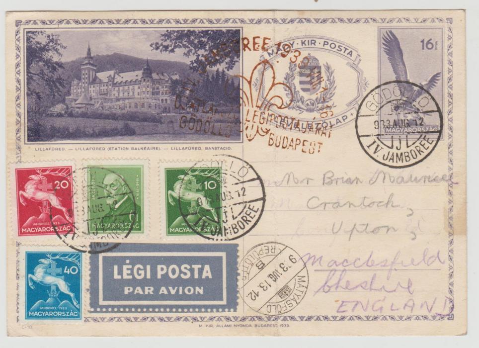 Hungary Scout Jamboree 1933