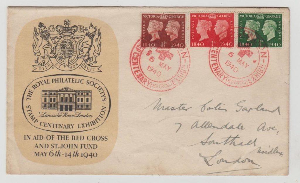 RPSL Red Cross Fund envelope