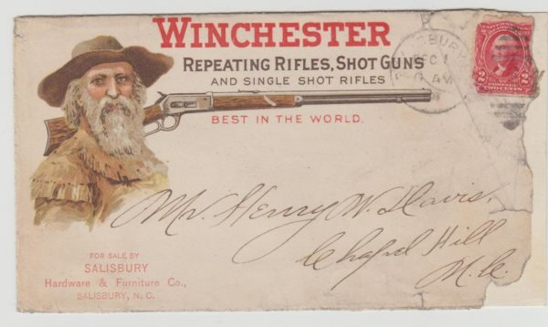 USA Winchester Rifle Advertising 1903