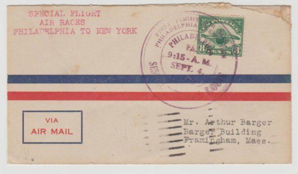USA Philadelphia-New York Air Race 1926