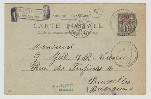 French Morocco to Belgium