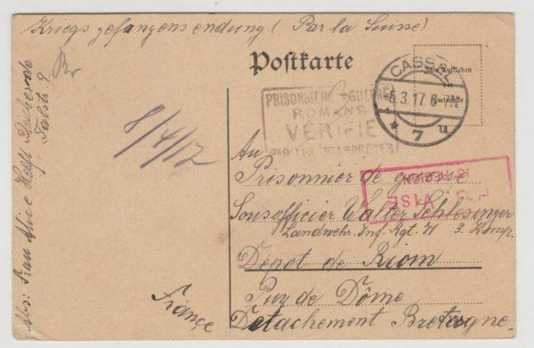 German POW in France