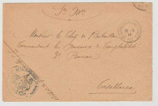 French Morocco Fez 1914