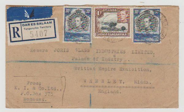 Tanganyika to British Empire Exhibition 1946