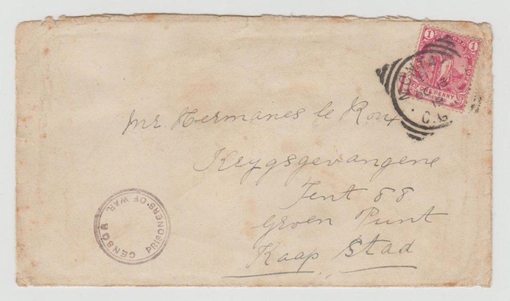 CAPE OF GOOD HOPE 1900 CENSORED