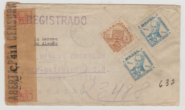 Brazil-Canada 1945